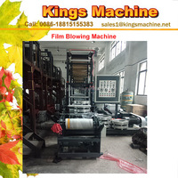 PE Mini Film Blowing Machine Polyethylene Plastic Film Blowing Machine Price(Kings Brand)