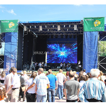 Slim Panel High Quality Folding Led Display/moving Led Curtain/LED Video wall p8 outdoor/outdoor rental