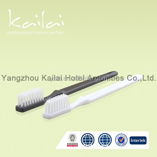 Plastic Bag with Customized Logo for Hotel Dental Kit, Disposable Toothbrush Kit,transparent cheap hotel toothbrush for dental
