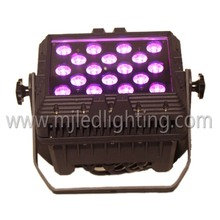 High Quality 18 *10w 4in1 ip65 outdoor RGBW waterproof floor light up dance stages