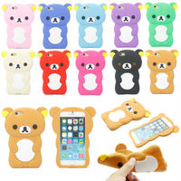 Hot Sale Promotion Gift Animal Shape 3D Silicone Phone Case