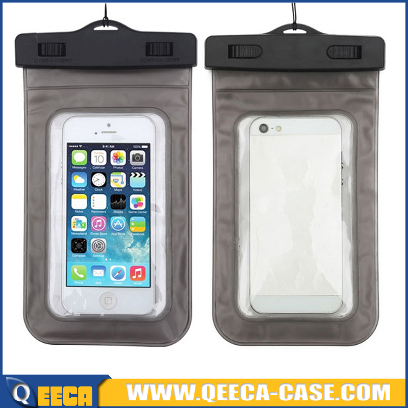 Factory wholesale clear PVC waterproof case for samsung galaxy s3 mini i8190