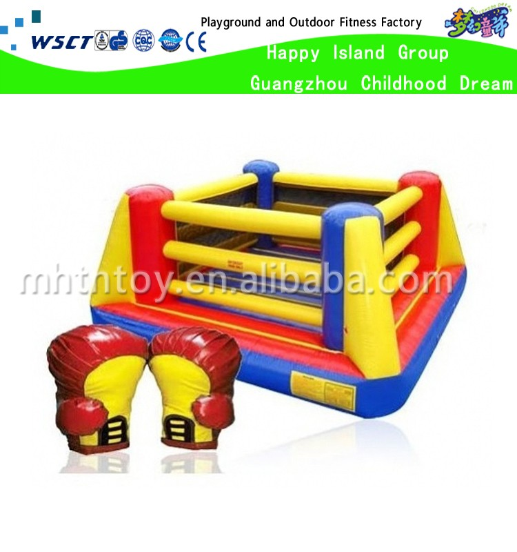 Factory gladiator Jousting inflatable games for adults with Sticks