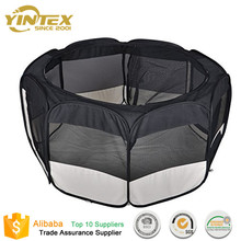 Folding Pet Playpen 8 Panels Exercise Puppy Dog fabric bed pet Tent