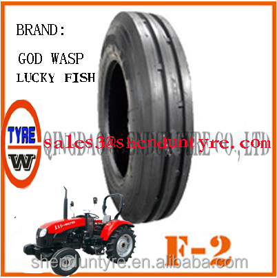 US $50 - 400 Famous BrandLuckyfish,High quality agricultural tyres F-2,Prompt delivery with warranty promise free replacement