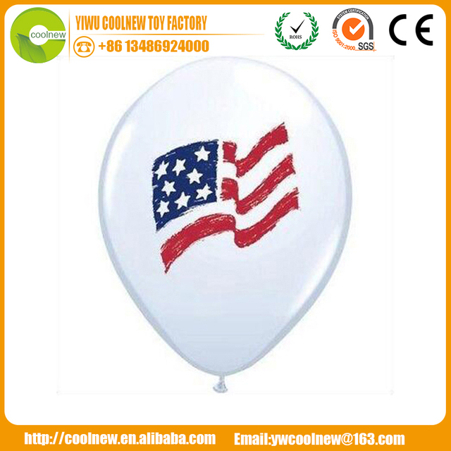 manufacture Wholesale 100% Latex Advertising Colorful Printable Balloons
