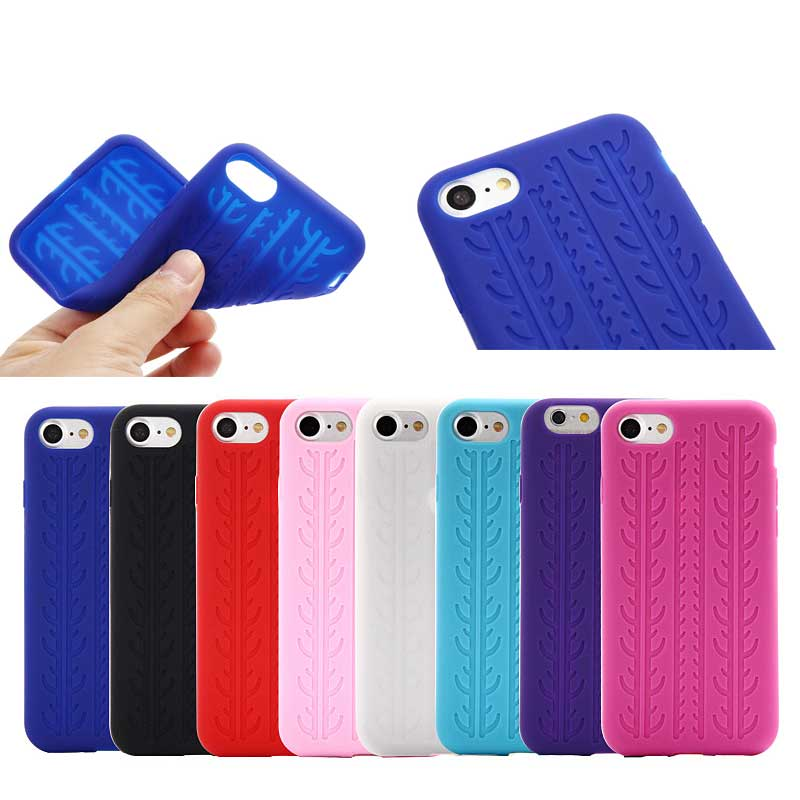 wholesale from China Tire pattern Soft silicon phone Case for iPhone 7plus 2016