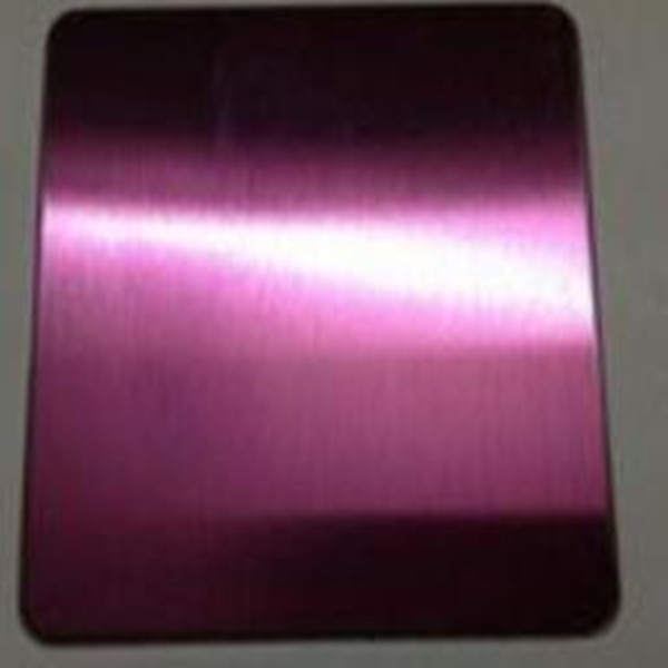 Colored Mirror 410 Stainless Steel Plate For Hotel