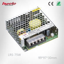 LRS-75W Ultra thin LED driver with SGS,CE,ROHS,TUV,UL,KC,CCC certification-2016