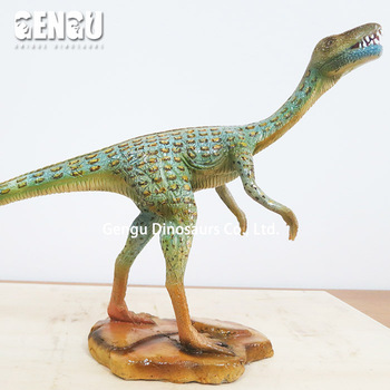 Indoor display fiberglass figurines dino figurine