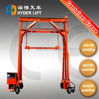 40 ton mobile container loading crane