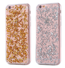 Hot China products tpu material glitter protective phone case for iphone for samsung