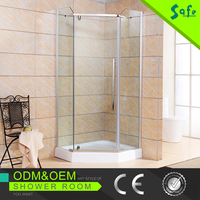 Complete aluminum frame shower room manufacturers bath room shower