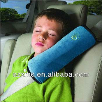 Comfortable Car Seat Safety Belt Cover Pillow Shoulder Pad Strap Cotton Security Seat Belt Pillow