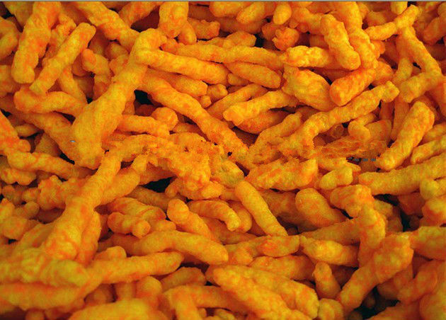 oil frying puffed corn Kurkure/Cheetos/Niknak Processing Line