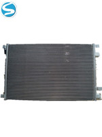evaporator and condenser for air conditioner