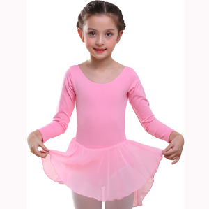 Wholesale Girls' Long Sleeve Leotard Dance Ballet Dress
