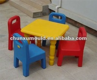plastic kids furniture, made by rotomolding