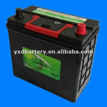 Sealed Best Car Battery For Japan Car 55B24