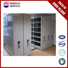 High density filing storage system mobile compactor office filing cabinet Library Mobile Shelving