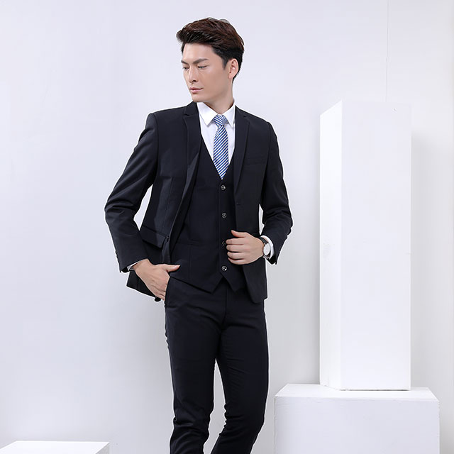 Customized new design my pants suit mens of office