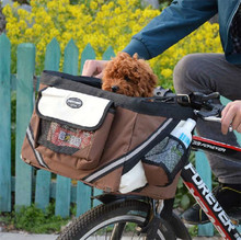 Wholesale Outdoor Bicycle Bag for Small Dog Pets Bike Pet Carrier