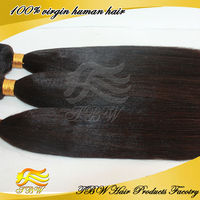 high quality and fast delivery light yaki straight low price virgin bresilienne hair