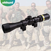Hunting Fiber Optics 3-9x40 air rifle scopes/ riflescope long range for shooting