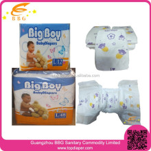 Factory supply disposable baby diapers wholesale fluff pulp baby nappies