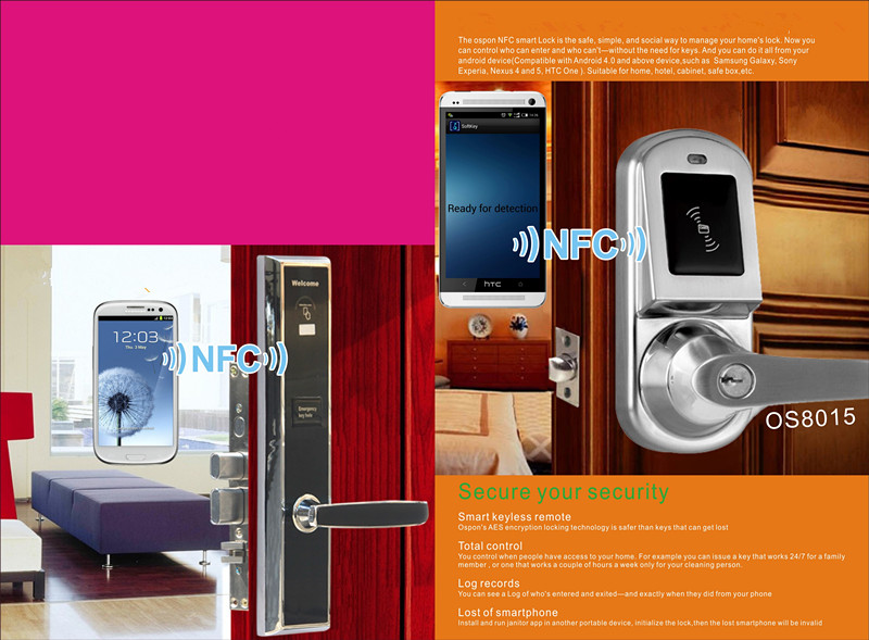 2016 new design electronic hotel nfc door lock buy nfc for Latest door design 2016