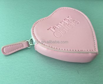 Mini Luxury Pink Heart-Shaped Coin Bag Manufacturer