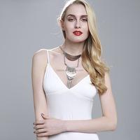 fashion silver necklace set wholesale NS-0000