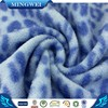 one side plain polar fleece print one side brushed fabric