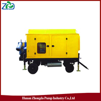 ZHONGDA ZYB Mobile self-priming Sewage Pump Truck