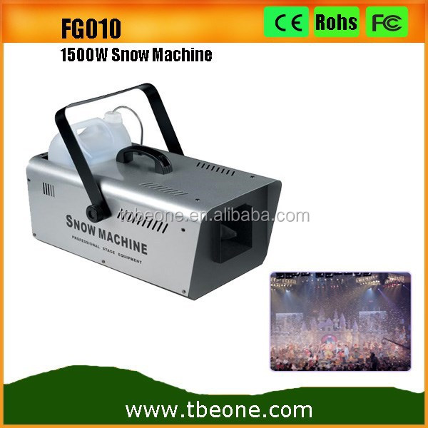 Stage Snow Effect Machine High Power 1500W Indoor Snow Machine