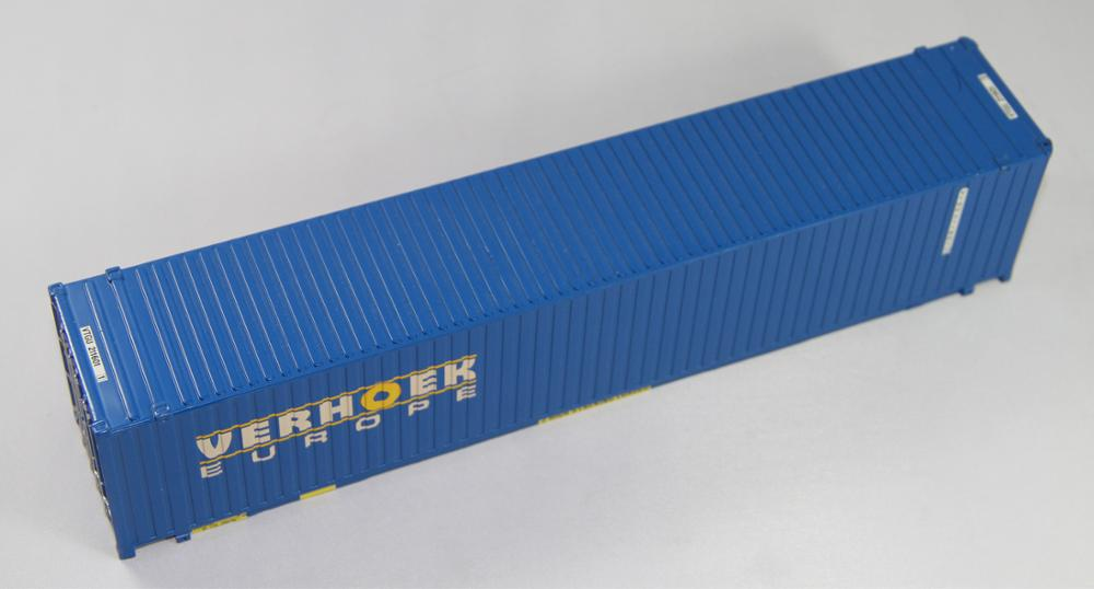 40ft container model 9.4inch casting metal model