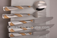 goldplated stainless steel knife collections for sale