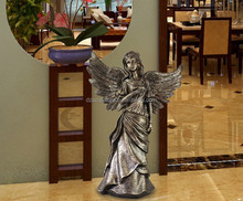 High Quality polyresin angel statues resin sculpture