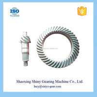 ISUZU Spare Parts Crown Wheel Pinion Spiral Bevel Gear