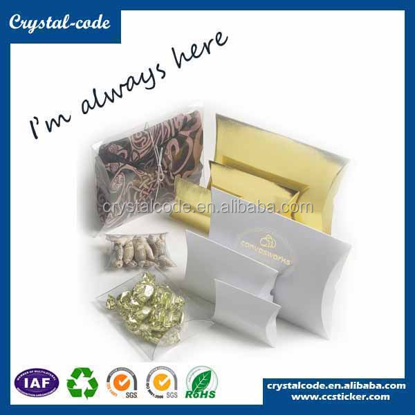 Custom special shaped folding packaging pillow shaped box