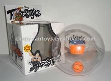 FASHION Music PU Mini Basketball With Light SP6542799