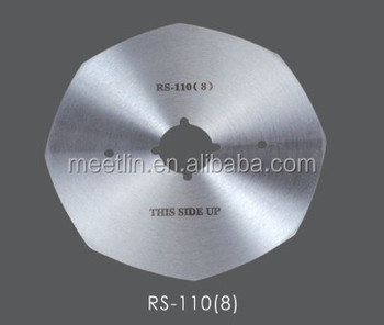 Round knife for cutting machine