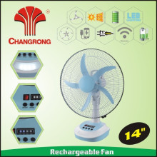 rechargeable fan 14 inch led rechargeable fan light rechargeable solar battery operated fan
