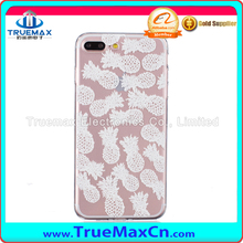 Silk PU leather For iPhone 7 Plus Case PC Flower Pattern Cover For iPhone 7 Plus Luxury hard Shell For iPhone 7 Plus