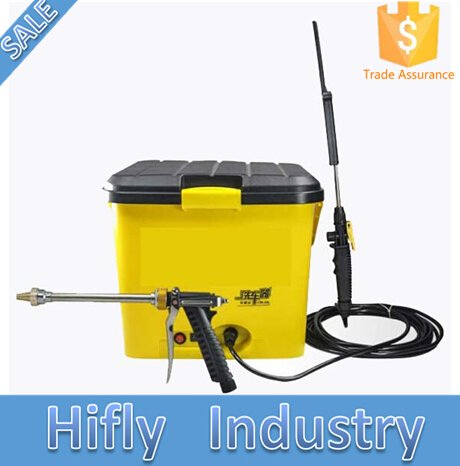 HF-ZM01 New High Pressure DC12V 28L Car Washing Machine Portable Lithium Battery Power Car Washer