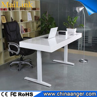 Hot Selling Ergonomic steel frame cheap adjustable desk with dual motor