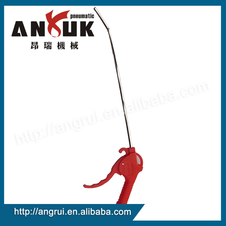 High quality red pneumatic plastic air duster spray guns