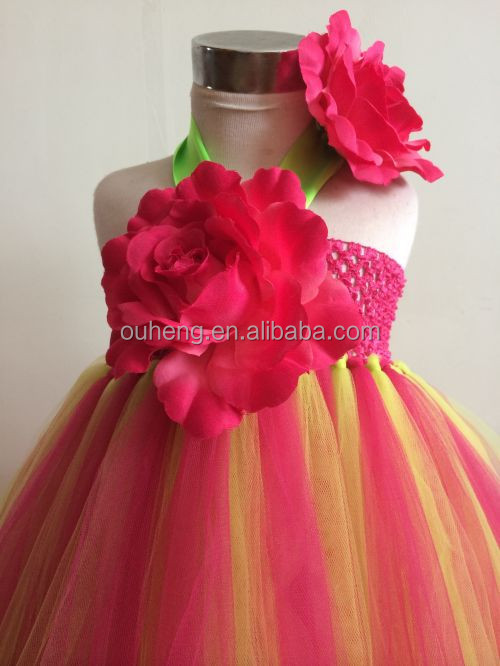 Grils Birthday Party Dress For 2 3 4 5 6 7 8 Years