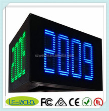 sport perimeter advertising mesh quick installation led moving message display