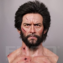 Life-size The Wolverine Bust Wax Figure For Sale